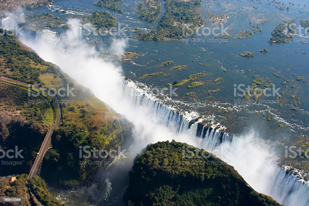Victoria Falls royalty-free stock photo