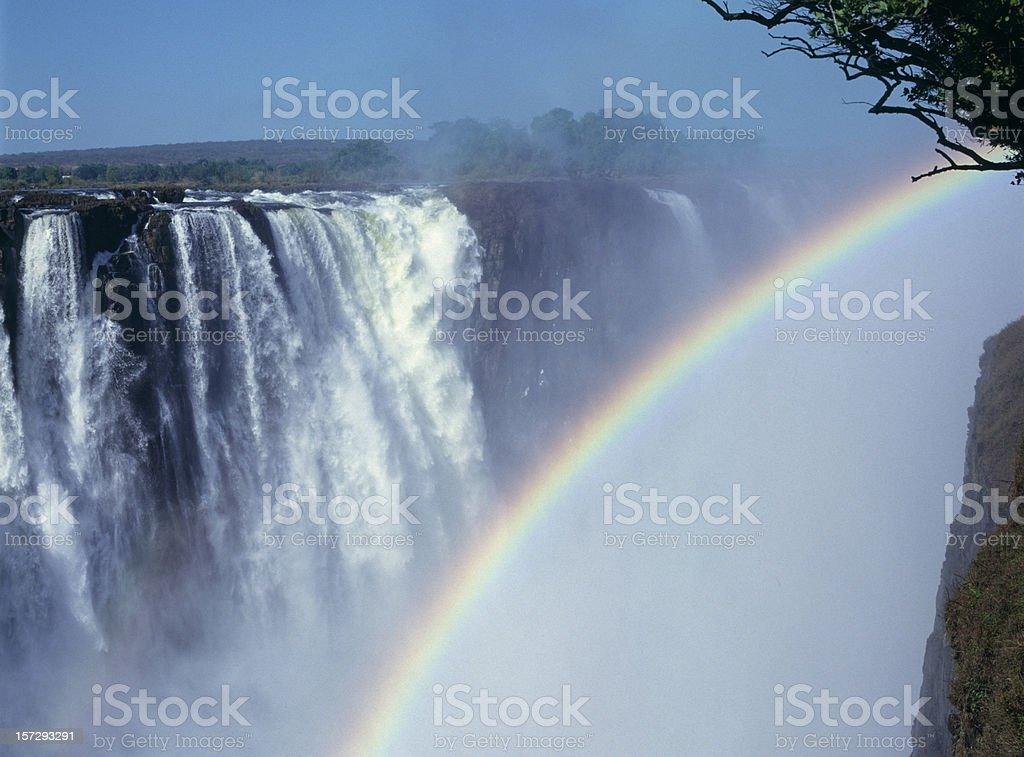 Victoria Falls, Zimbabwe Africa (image size XXL) stock photo