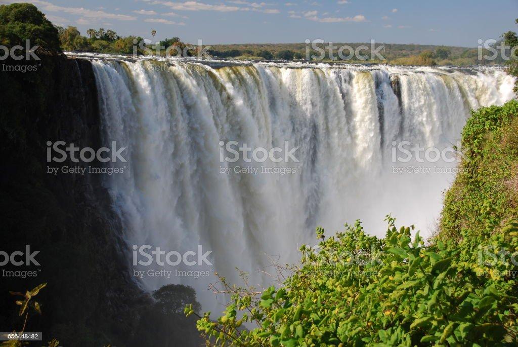 Victoria Falls, Zimbabwe stock photo