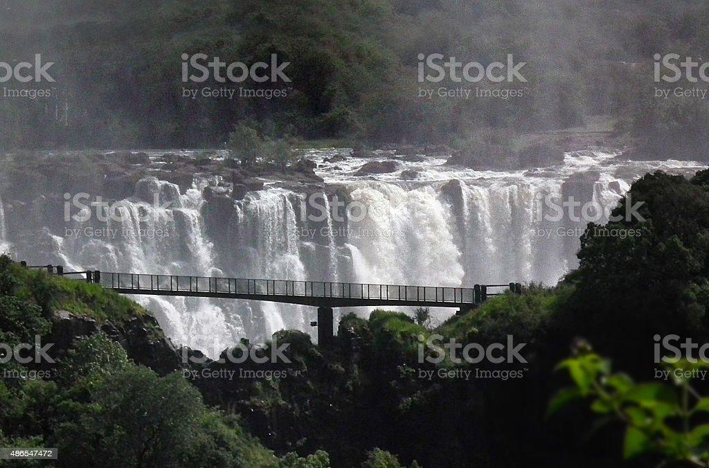 Victoria Falls, Zimbabwe, Zambia stock photo