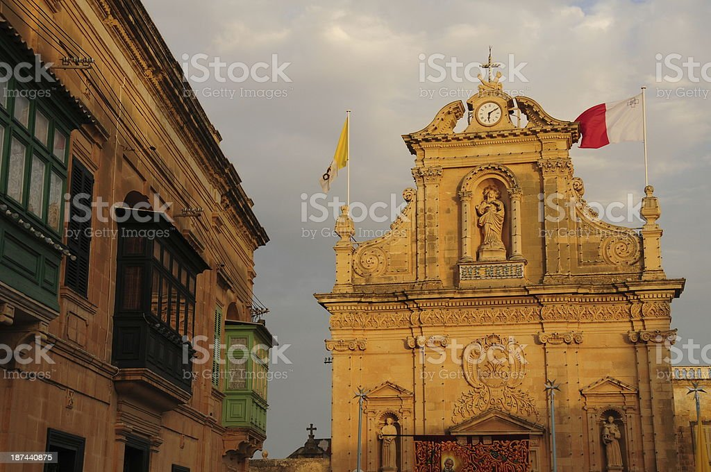 Victoria, Gozo, Malta. royalty-free stock photo