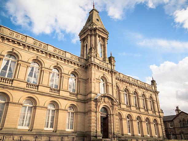 Victoria Hall & Institute in Saltaire, Bradford stock photo