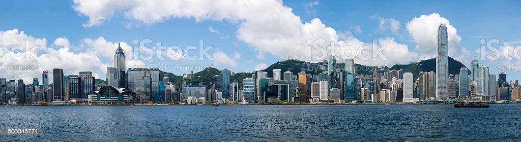Victoria Harbour, auf Hong Kong Island – Foto
