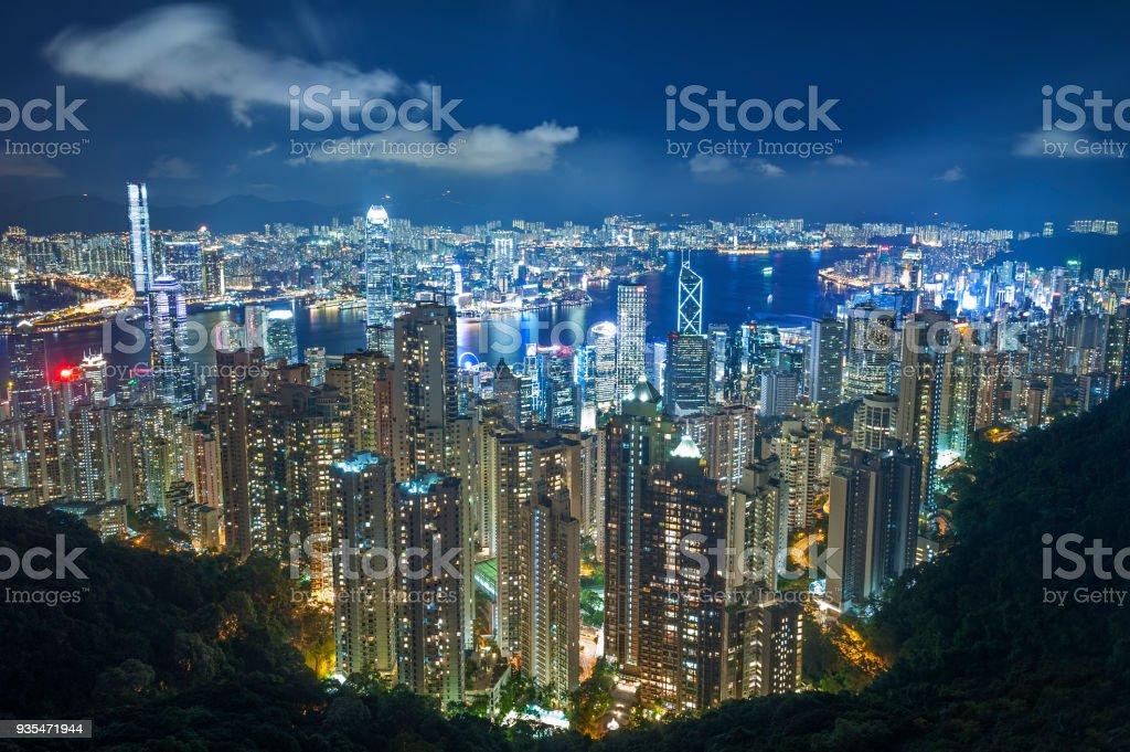 Victoria Hafen von Hong Kong – Foto