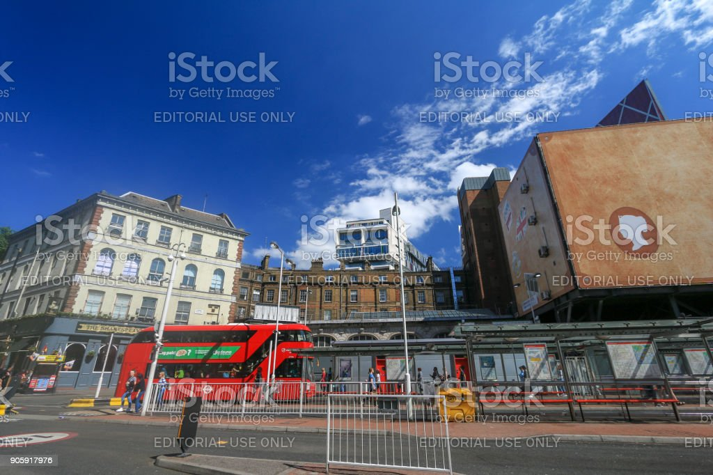 Victoria in City of Westminster, London stock photo