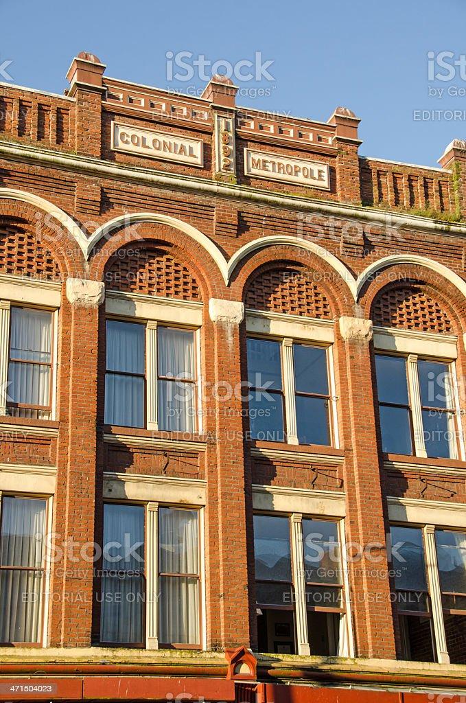 Victoria Lower Johnson Street Building royalty-free stock photo