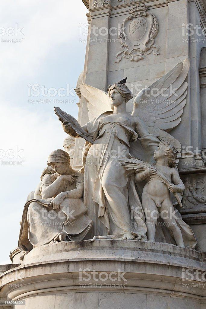 Victoria Memorial, detail stock photo