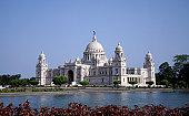 istock Victoria Memorial in Calcutta in India 157287270