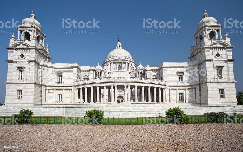 Victoria Memorial In Calcutta, India stock photo