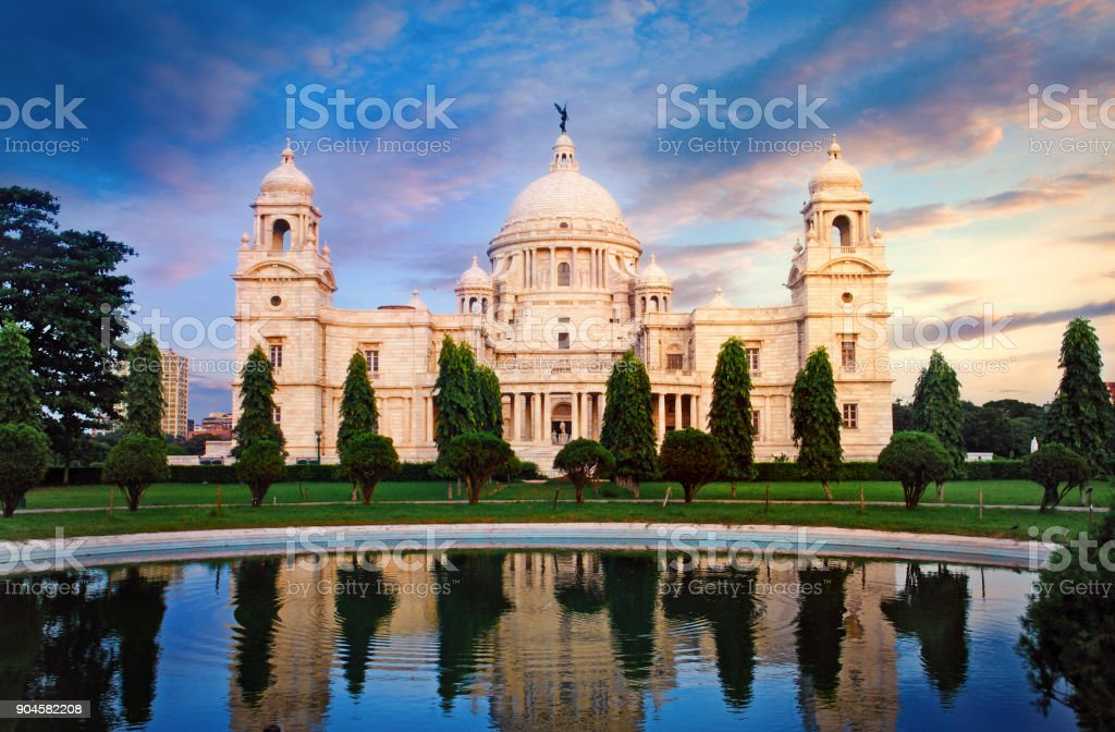 Victoria Memorial à Calcutta - Photo