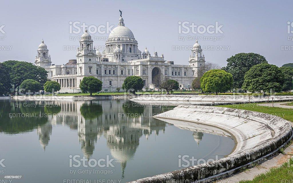 Victoria Memorial, Kolkata, Bengal, India stock photo