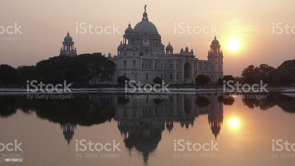 Victoria Memorial. Kolkata. India stock photo
