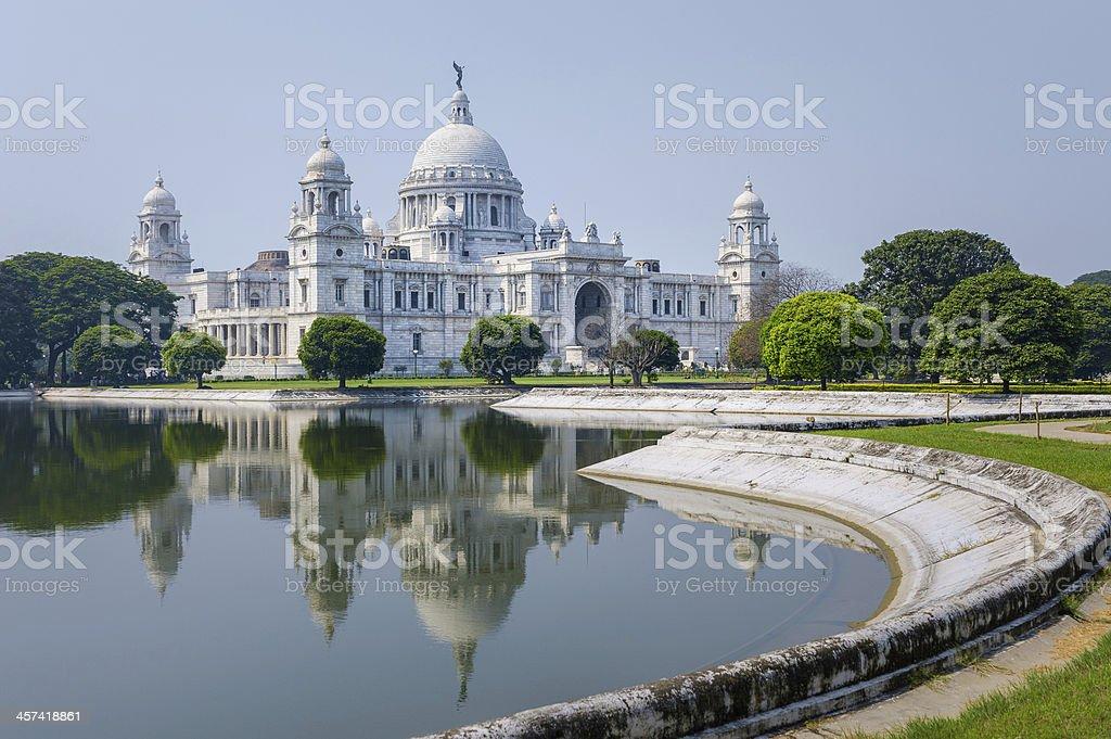Victoria Memorial, Kolkata, India. stock photo