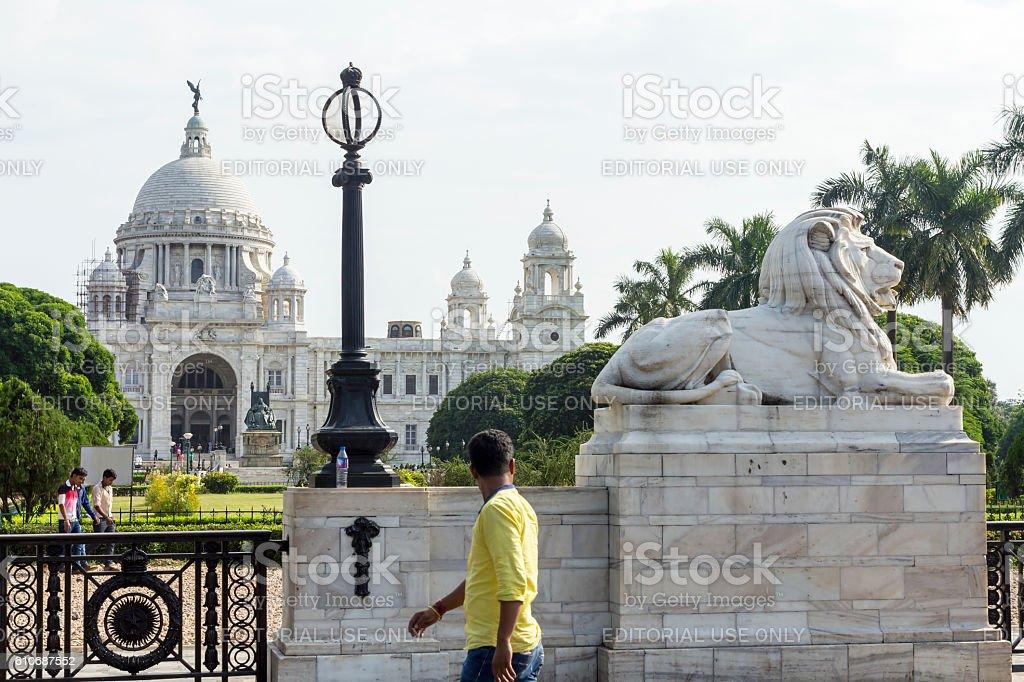 Victoria Memorial, Kolkata, India stock photo