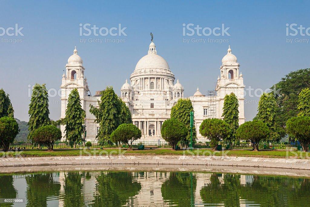 Victoria Memorial, Kolkata stock photo
