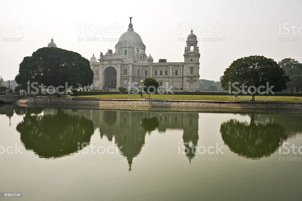 Victoria Memorial, Kolkata royalty-free stock photo