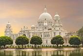 istock Victoria Memorial landmark in Calcutta India 466240080