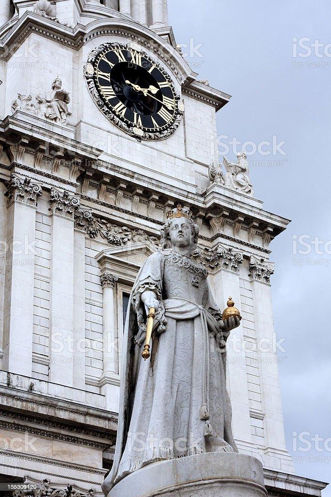 Victoria Memorial, London stock photo