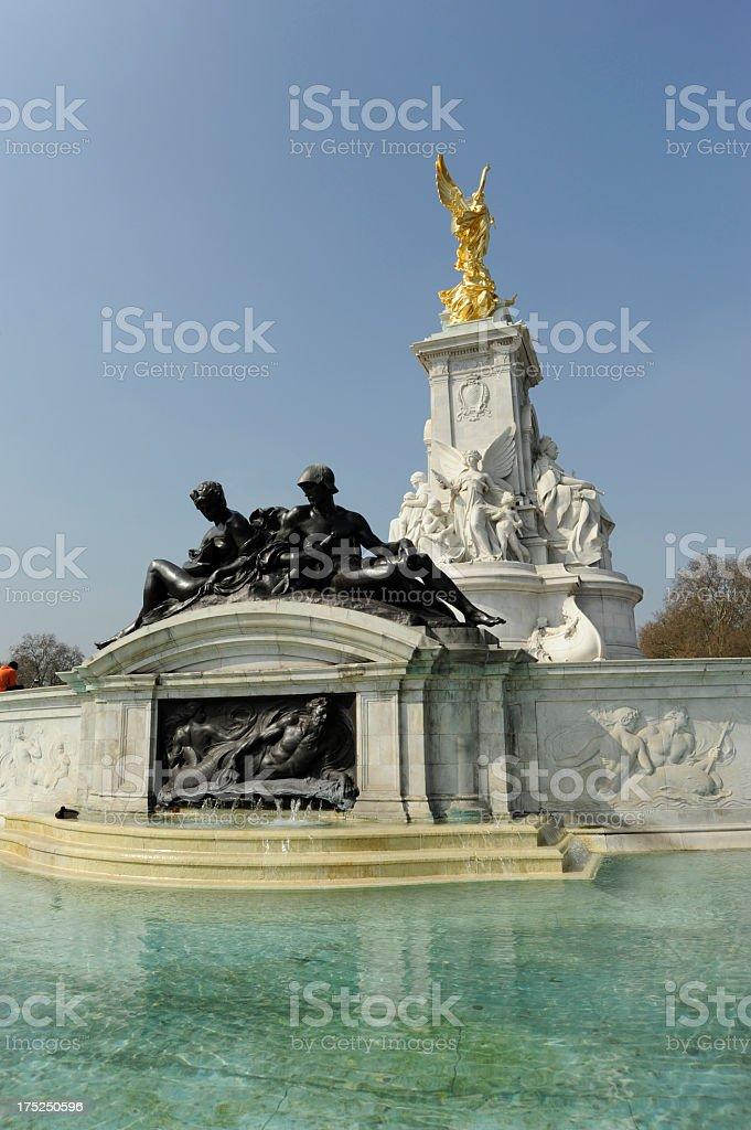 Victoria memorial. London stock photo
