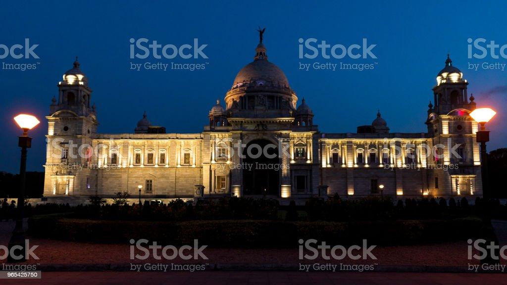 Victoria Memorial. zbiór zdjęć royalty-free