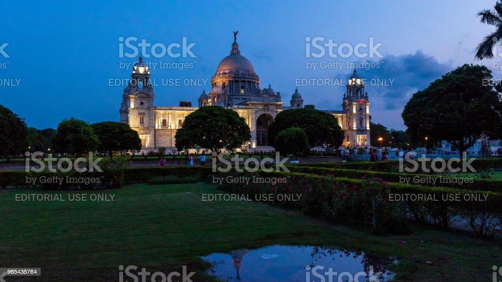 Victoria Memorial zbiór zdjęć royalty-free