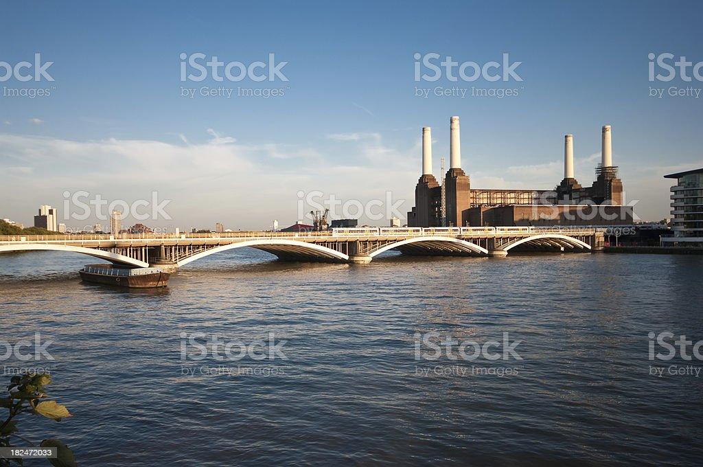 Victoria Railway Bridge stock photo