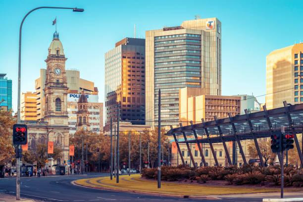 Victoria Square, Stadtzentrum von Adelaide – Foto
