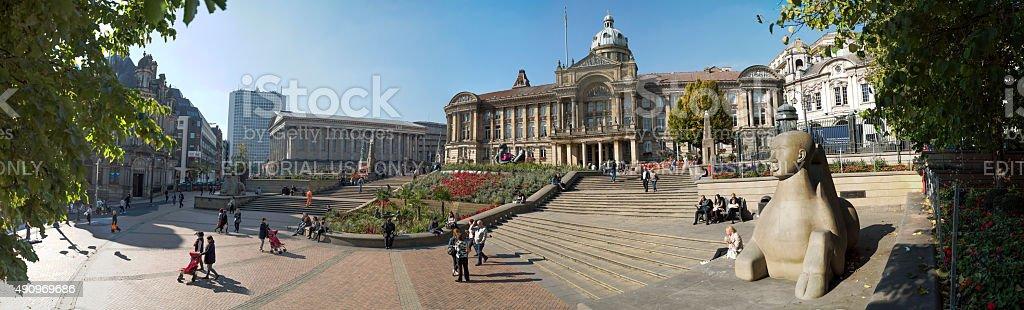 Victoria Square, Birmingham, England. stock photo