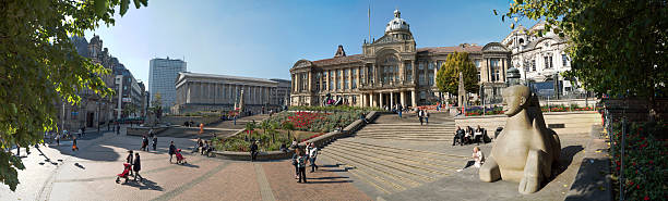 Victoria Square, Birmingham, England. stock photo