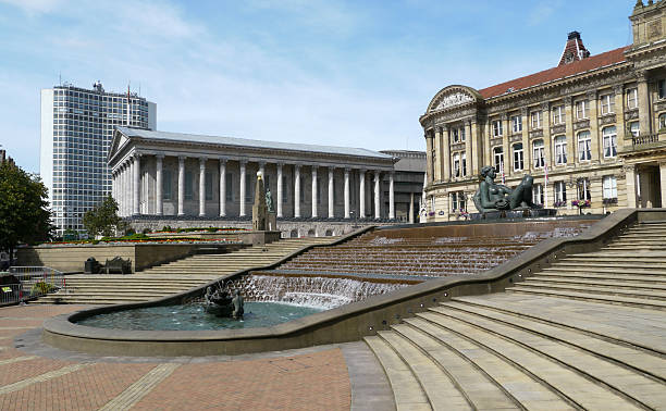 Victoria Square, Birmingham stock photo