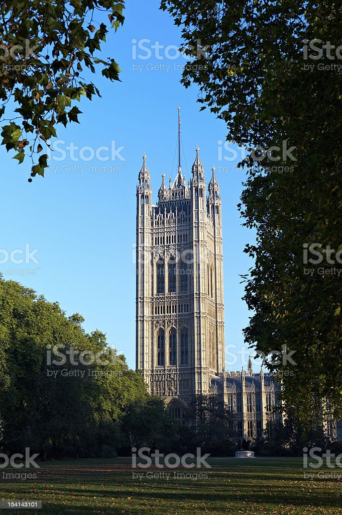 Victoria Tower in London royalty-free stock photo