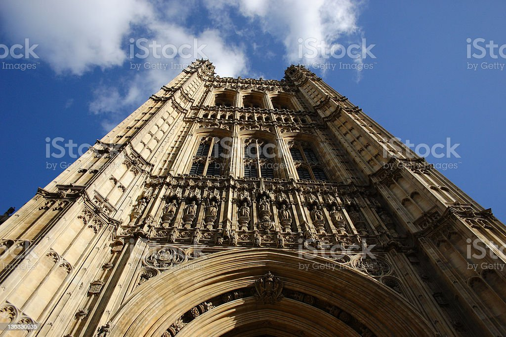 Victoria Tower, London royalty-free stock photo
