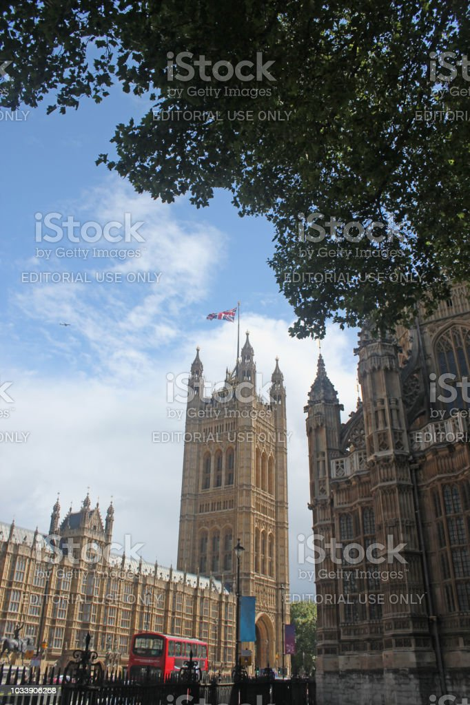 Victoria Tower stock photo