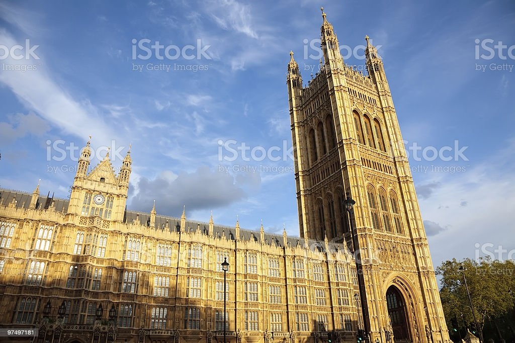 Victoria Tower royalty-free stock photo