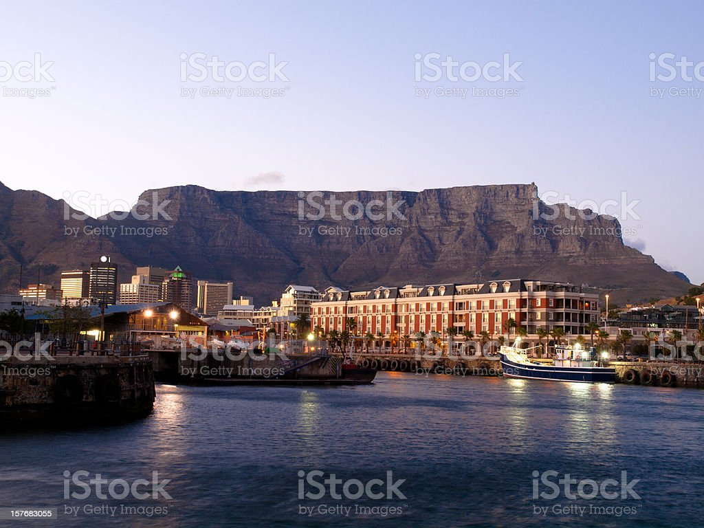 Victoria Waterfront, Cape Town South Africa stock photo