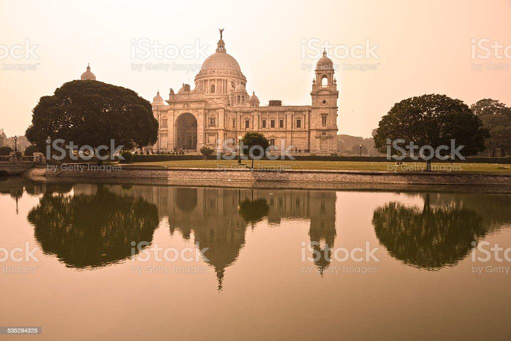 Victorial Memorial, Kolkata. stock photo