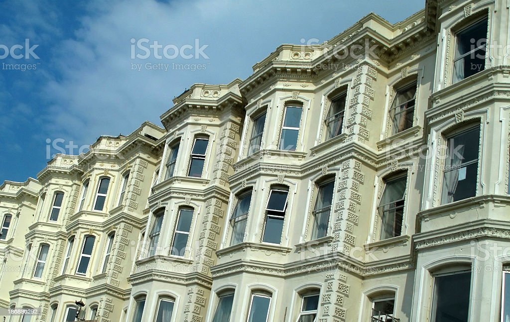 Victorian Apartments royalty-free stock photo