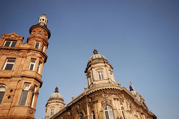 victorian architecture in hull, east yorkshire - hull stock pictures, royalty-free photos & images