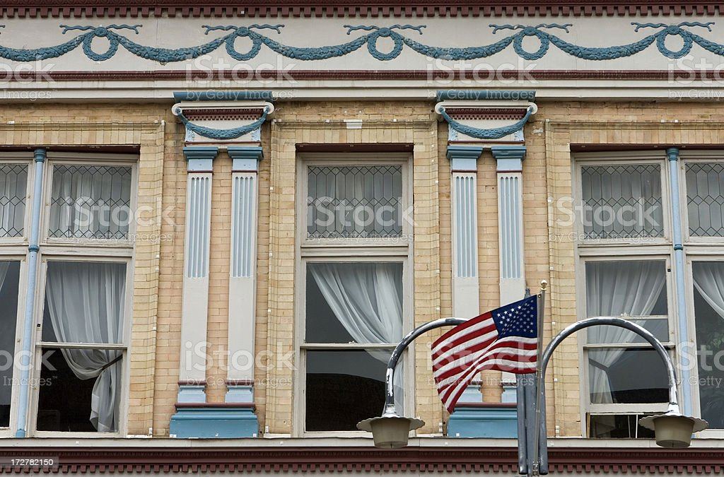 Victorian architecture of Central City, Colorado royalty-free stock photo
