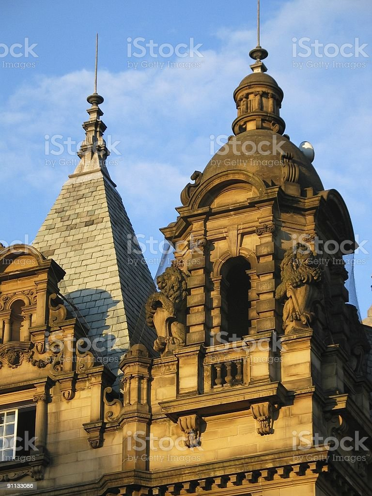 Victorian architecture royalty-free stock photo