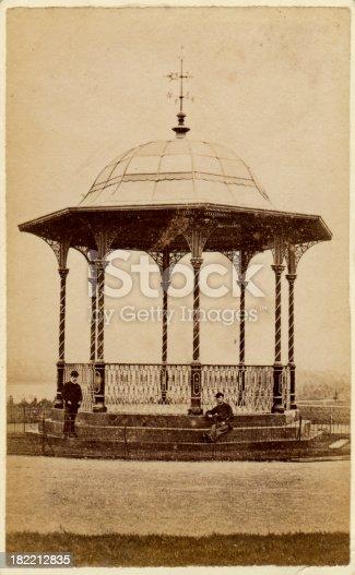 istock Victorian Bandstand 19th Century 182212835