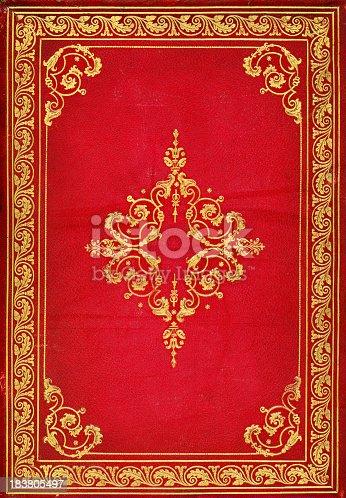istock Victorian Bookcover 183805497