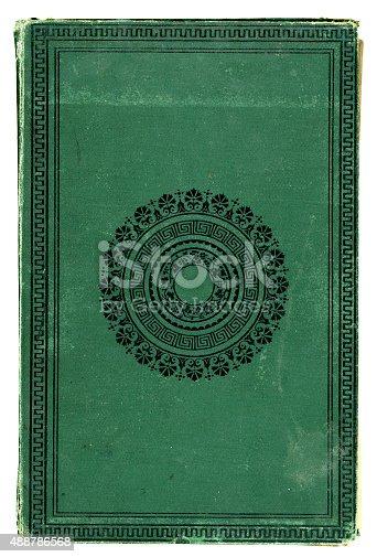 istock Victorian bookcover 488786568
