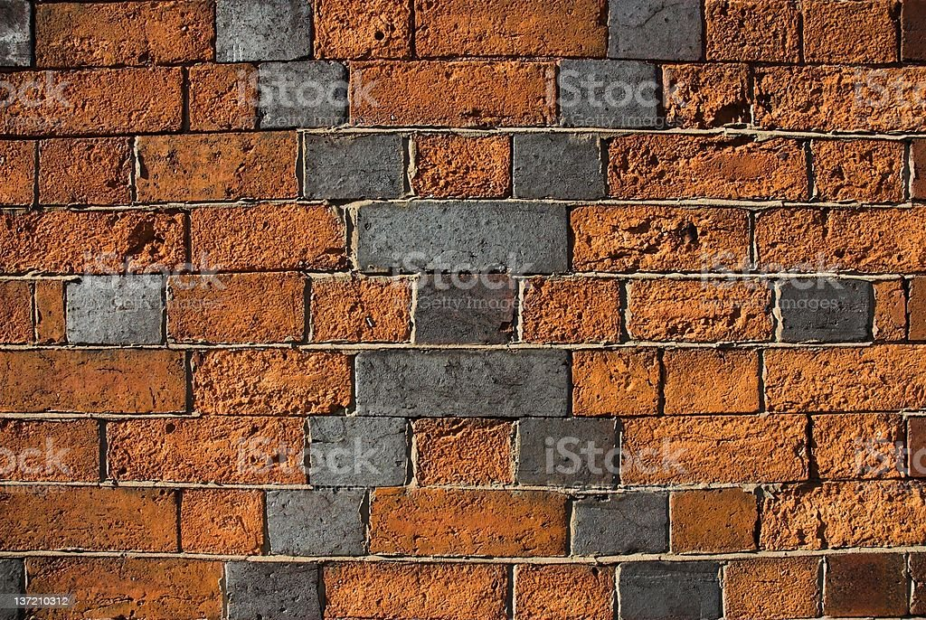 Victorian brick pattern. royalty-free stock photo