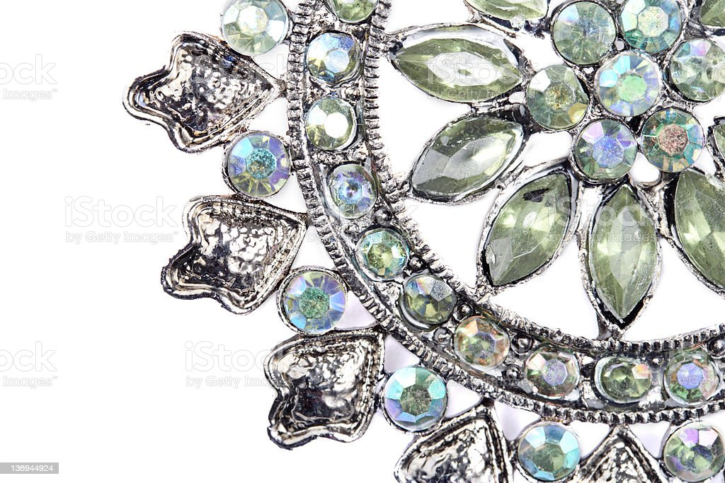 Victorian Broach royalty-free stock photo