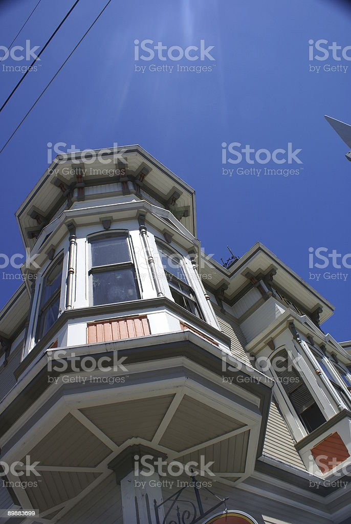 victorian building architecture royalty-free stock photo