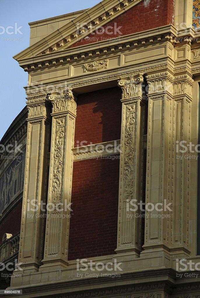 Extérieur du bâtiment victorien orné de détails photo libre de droits