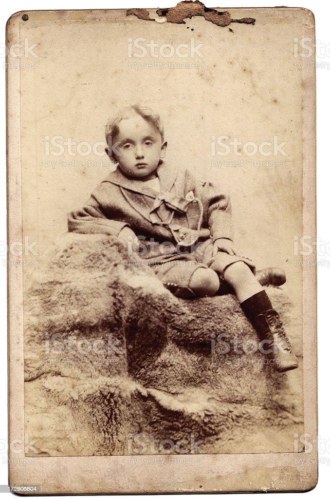Victorian child royalty-free stock photo