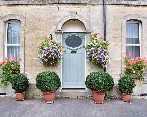 Victorian Cottage stock photo
