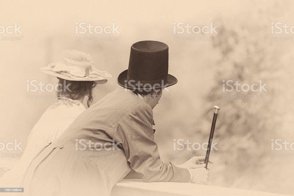 Victorian couple foto